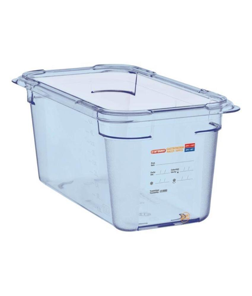 Araven Araven ABS blauwe GN1/3 voedseldoos 150mm