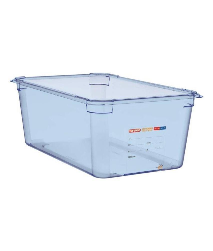 Araven Araven ABS blauwe GN1/1 voedseldoos 200mm