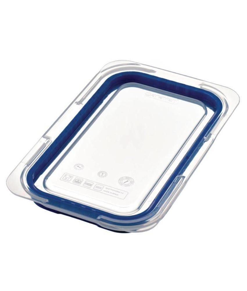 Araven Araven luchtdicht deksel voor ABS blauwe voedseldoos GN1/4