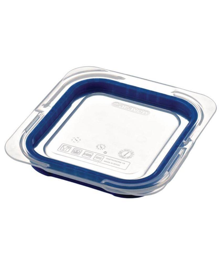 Araven Araven luchtdicht deksel voor ABS blauwe voedseldoos GN1/6