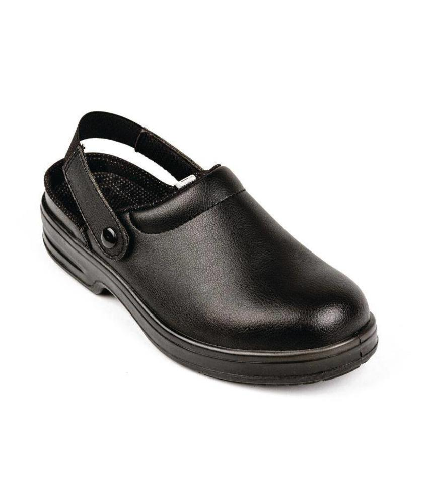 Lites Safety Footwear Unisex veiligheidsklompen zwart