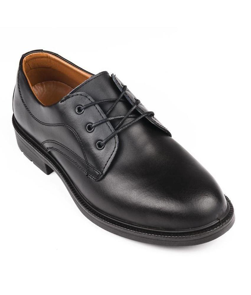 Safeway Zwarte heren veterschoenen