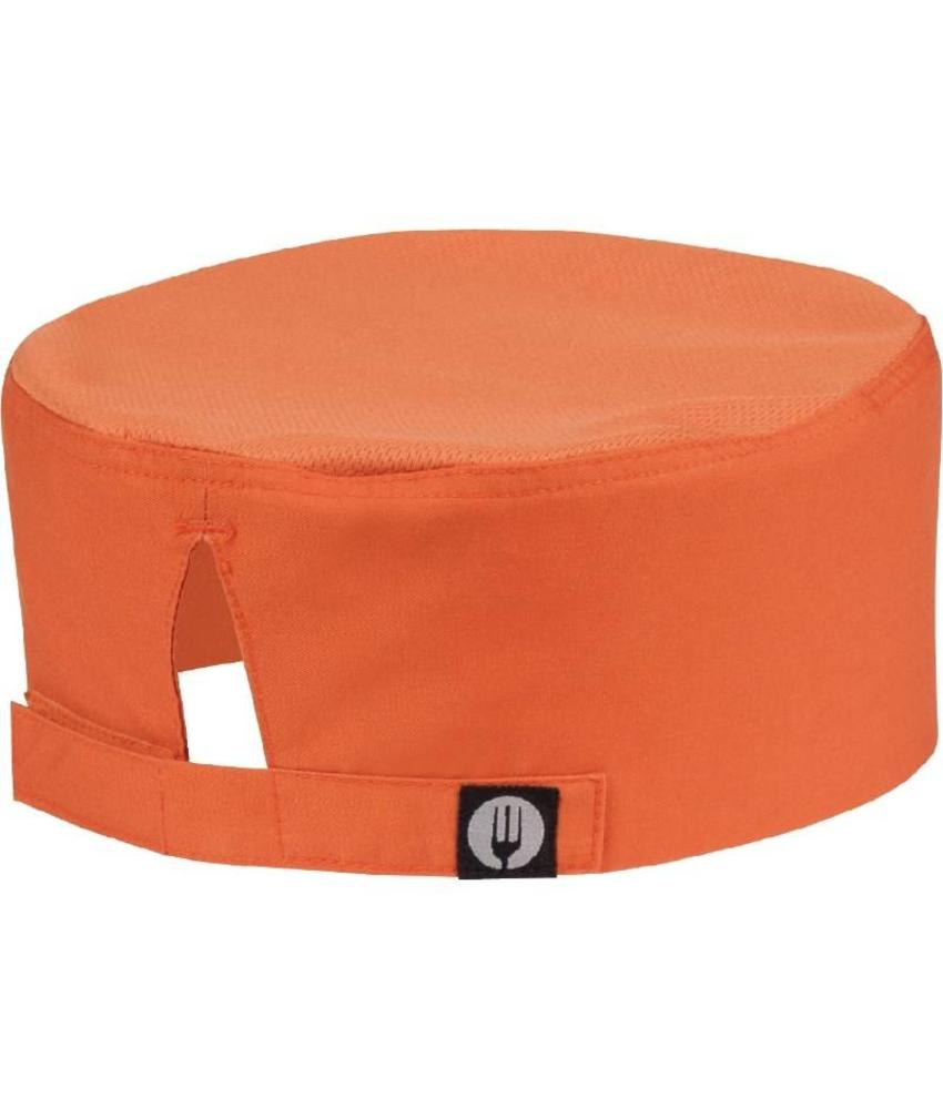 Chef Works Colour by Chef Works Cool Vent beanie oranje