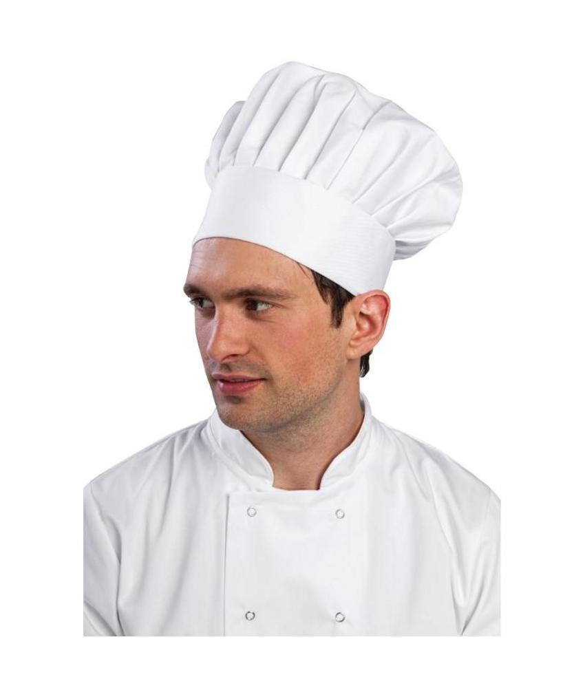WHITES CHEFS APPAREL Whites koksmuts wit S