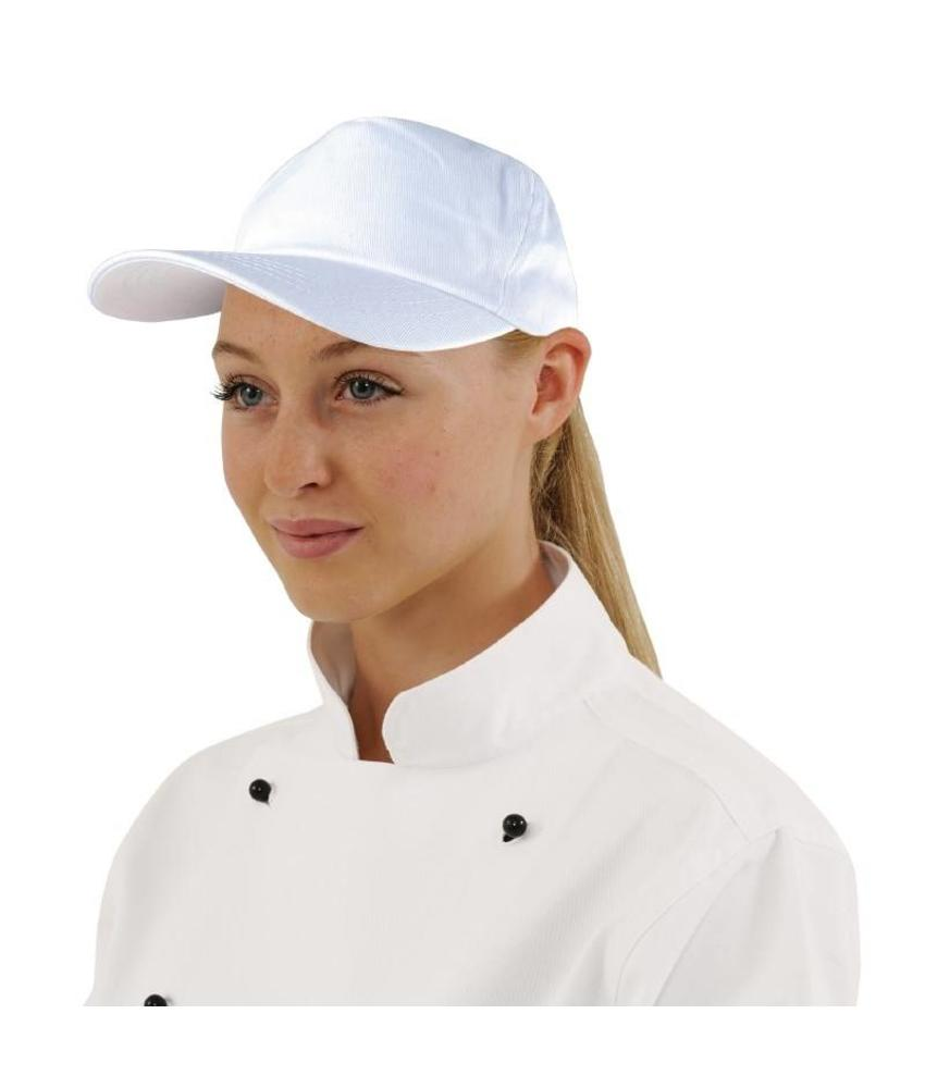 WHITES CHEFS APPAREL Whites Baseball cap wit