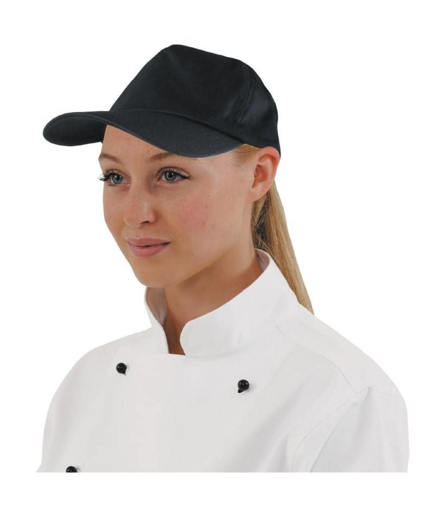 WHITES CHEFS APPAREL Whites baseball cap zwart