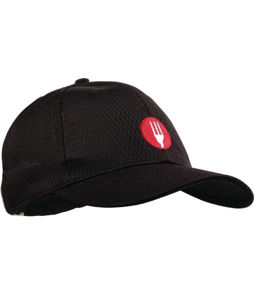 Chef Works Colour by Chef Works Cool Vent baseball cap zwart