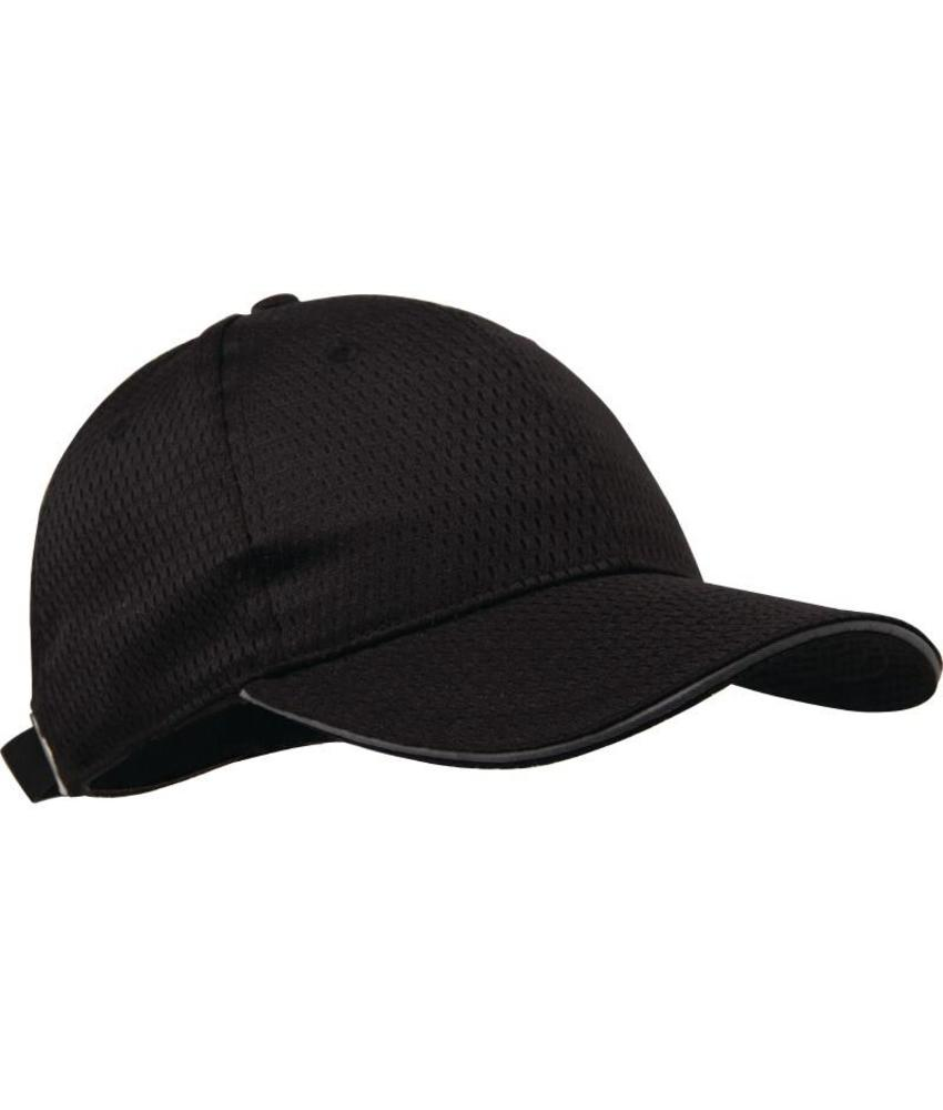 Chef Works Colour by Chef Works Cool Vent baseball cap zwart en grijs
