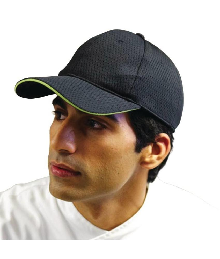Chef Works Colour by Chef Works Cool Vent baseball cap zwart en limoen