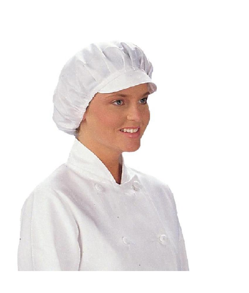 WHITES CHEFS APPAREL Whites muts met klep wit