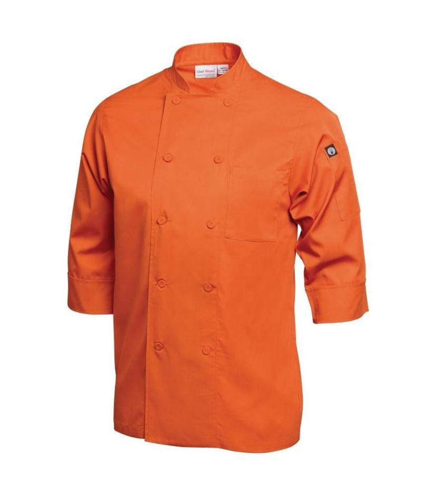 Chef Works gekleurde Lite koksbuis oranje