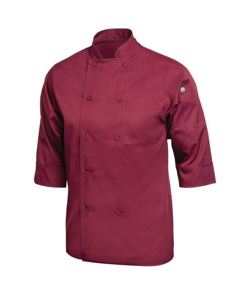 Chef Works gekleurde Lite koksbuis bordeaux