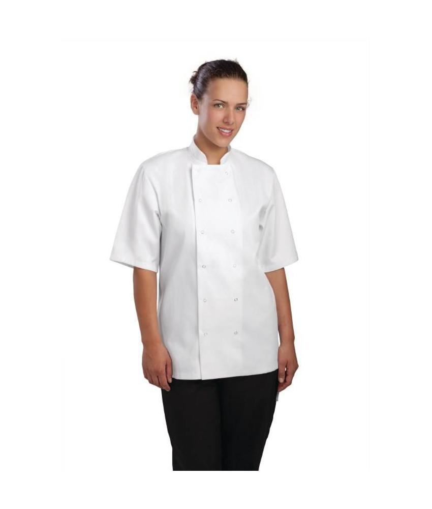 Whites Chefs Clothing Vegas koksbuis korte mouw wit