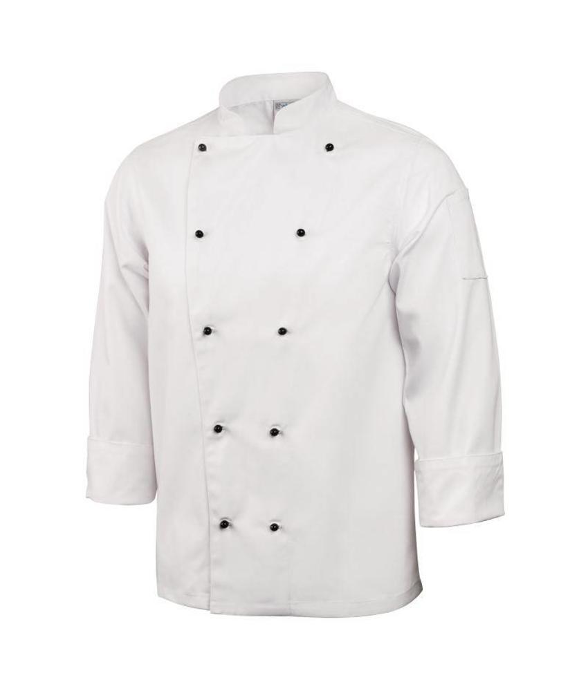 Whites Chefs Clothing Chicago koksbuis lange mouw wit