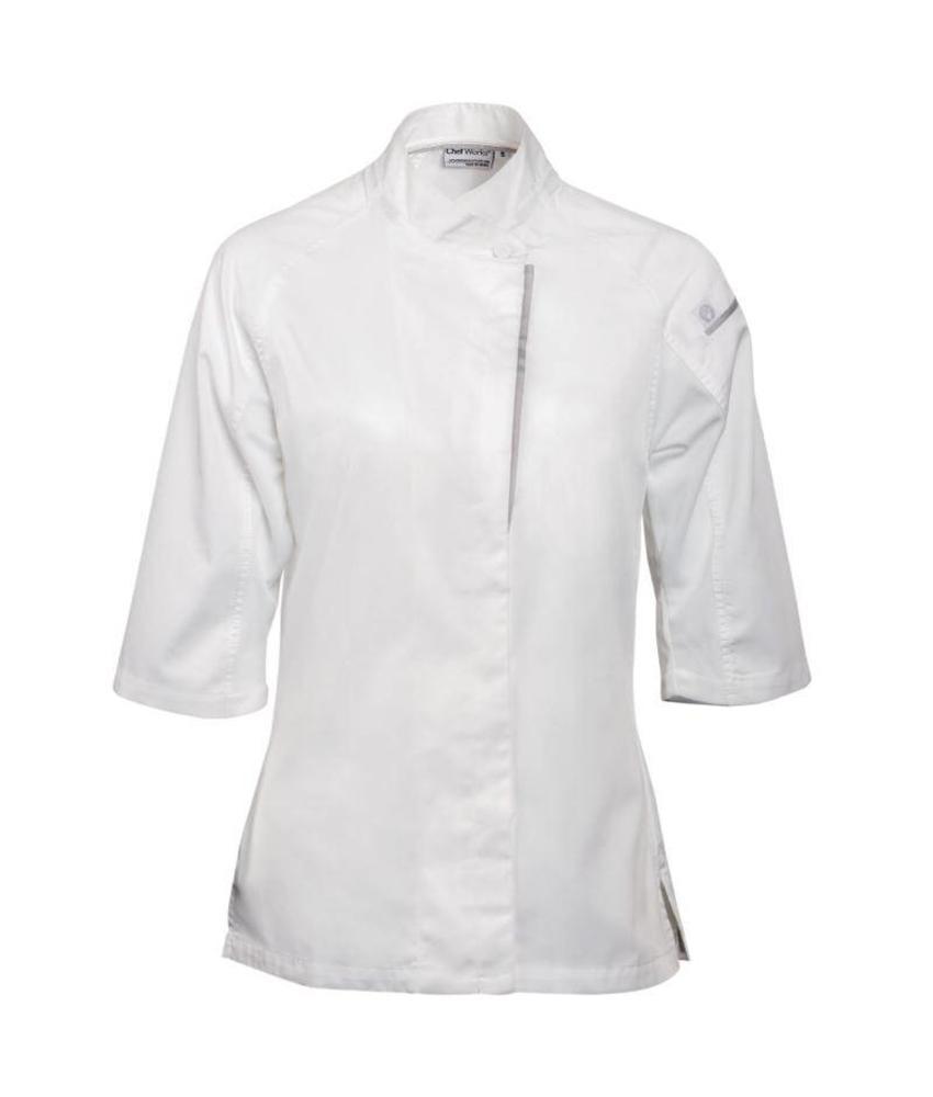 Chef Works Verona Cool Vent dames koksbuis wit