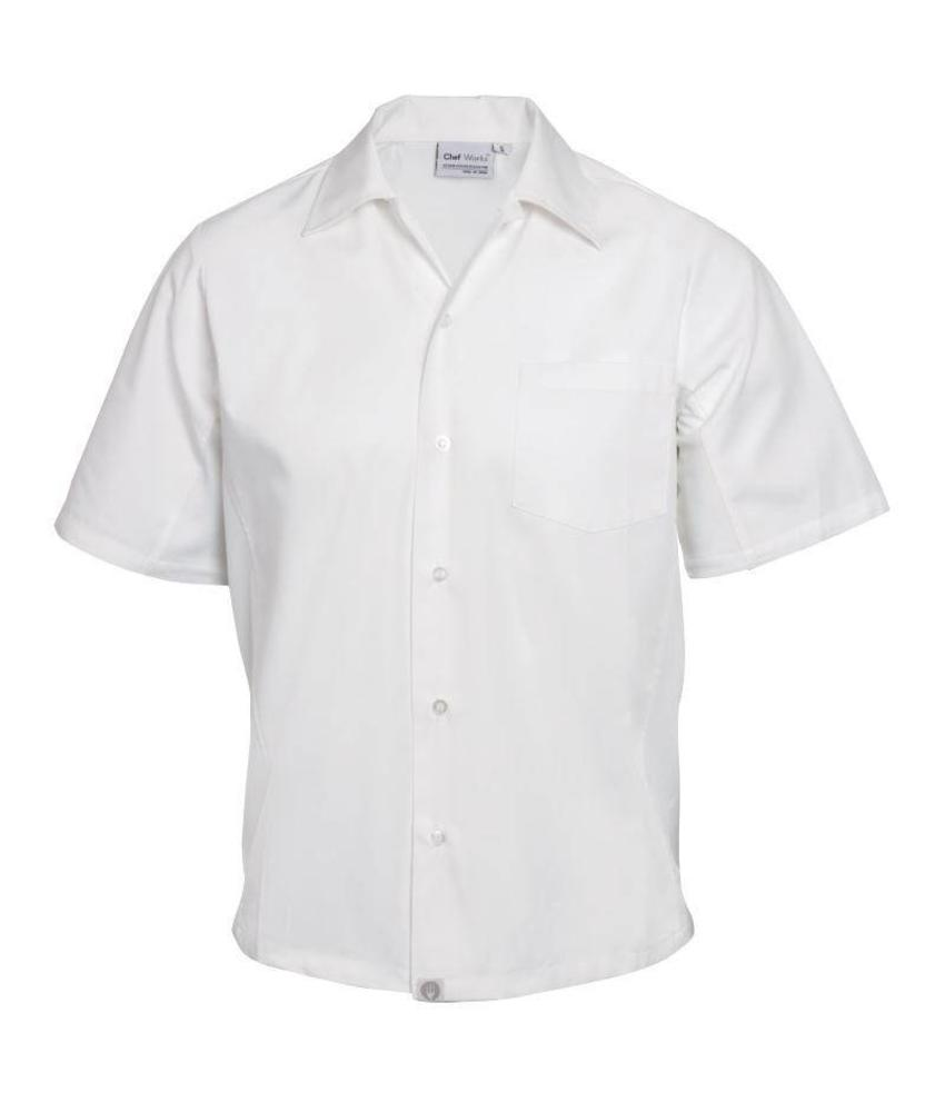 Chef Works Coolvent chef shirt wit