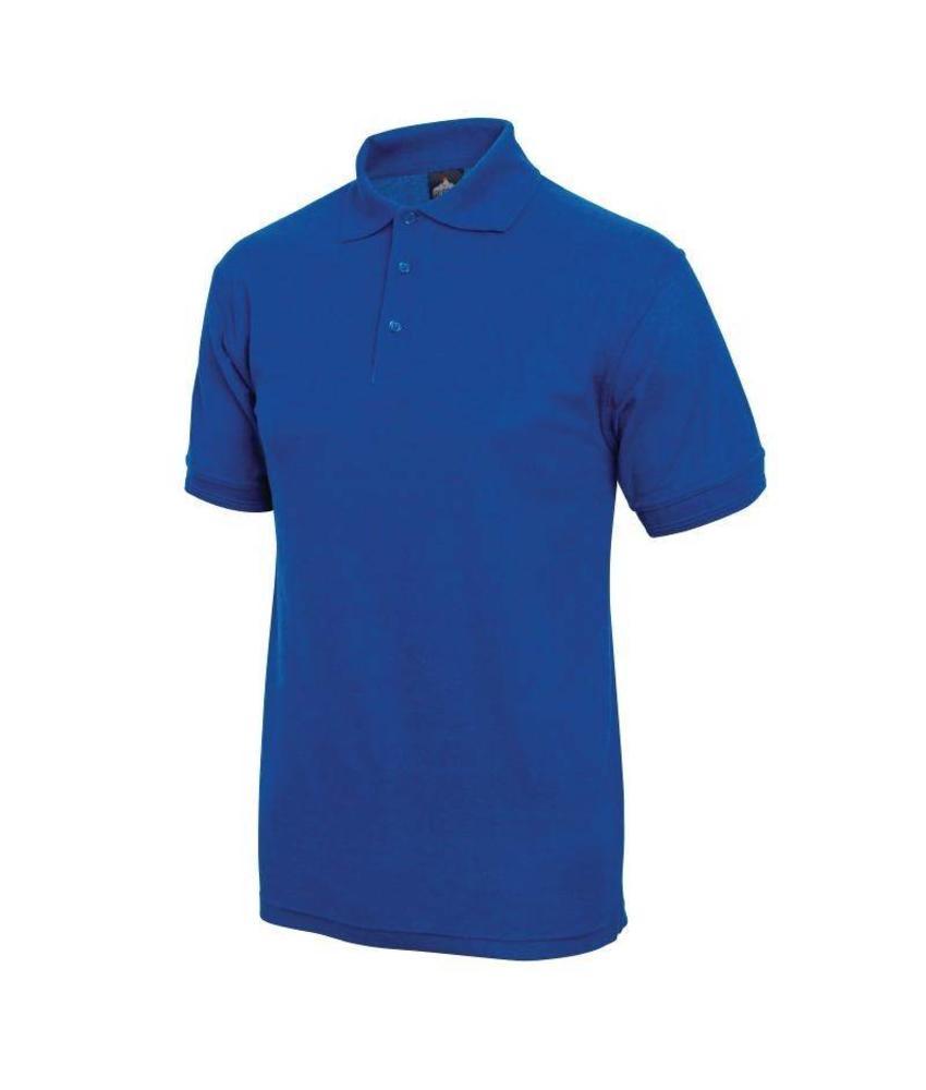 Poloshirt kobaltblauw