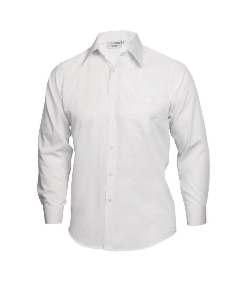 Uniform Works Heren overhemd wit
