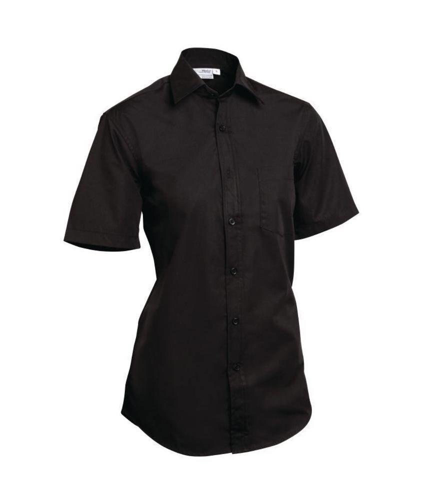 Uniform Works Unisex overhemd zwart