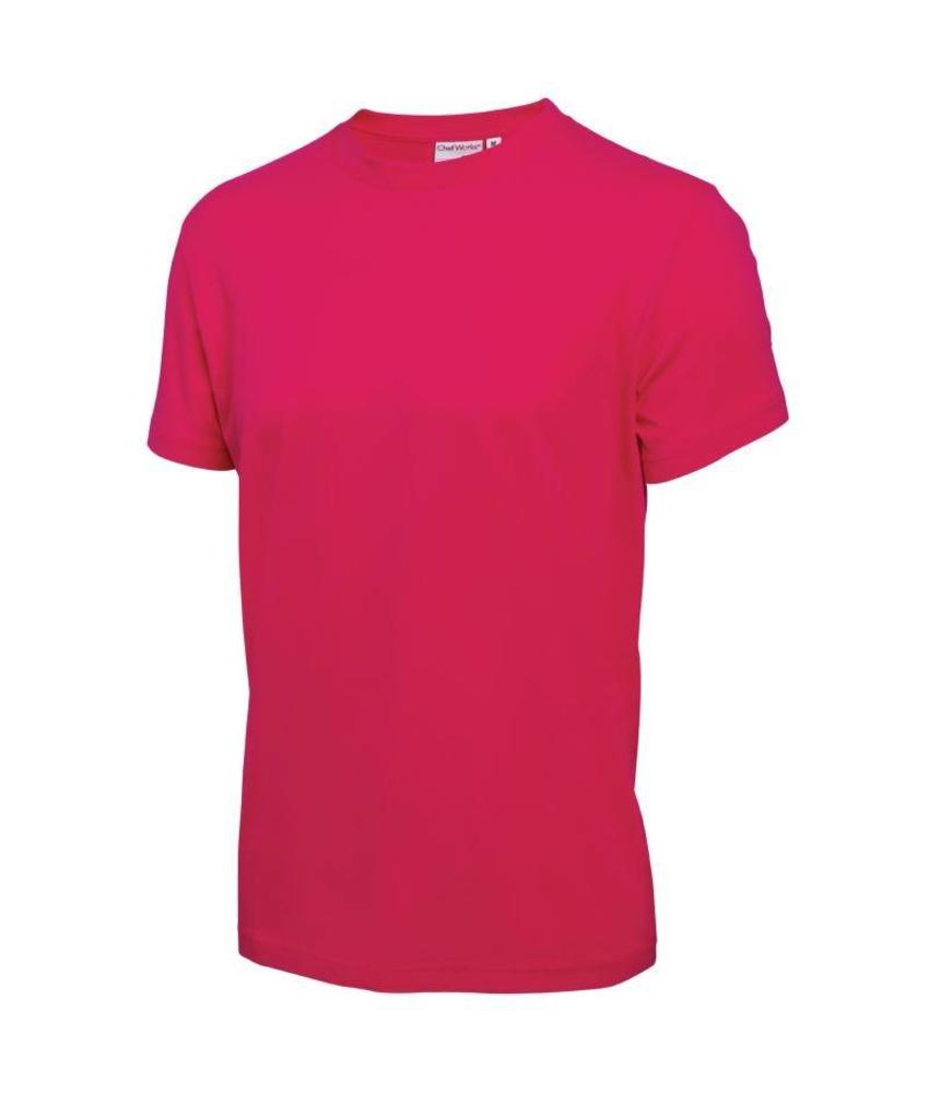Chef Works T-Shirt roze