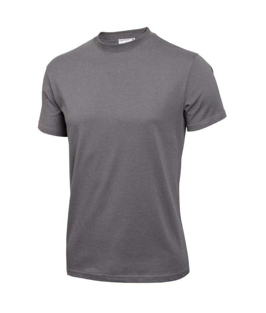 Chef Works unisex T-shirt grijs