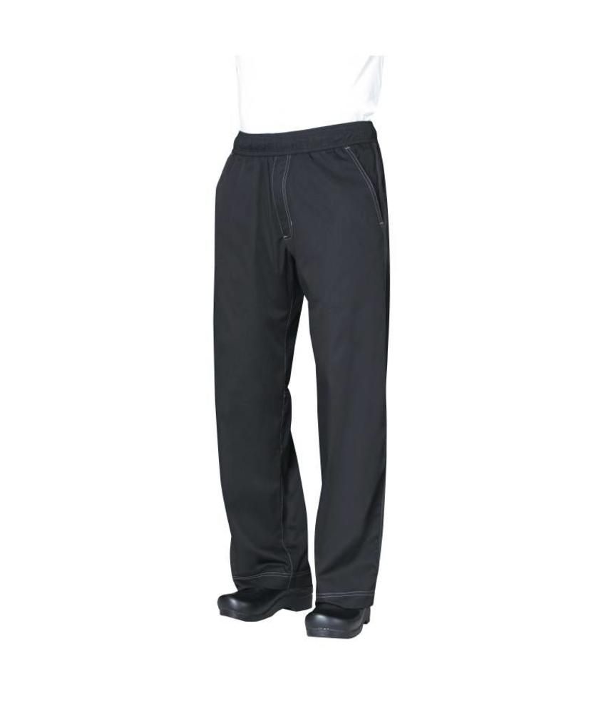 Chef Works Cool Vent pantalons zwart