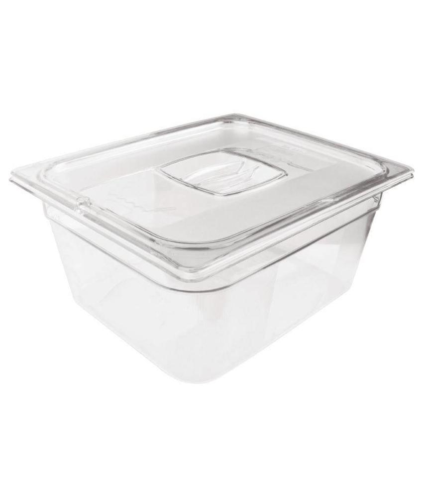 Rubbermaid Rubbermaid transparante polycarbonaat GN1/2 bak 200mm