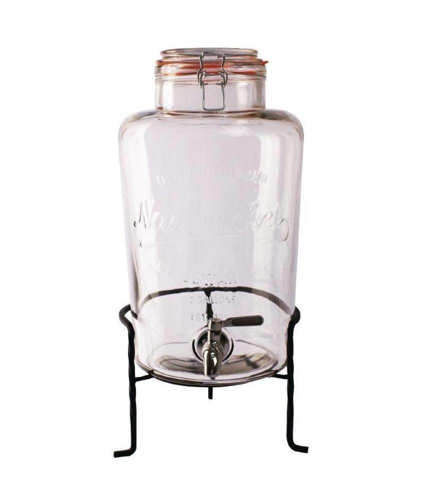 Olympia Olympia glazen retro waterdispenser met standaard 8,5L