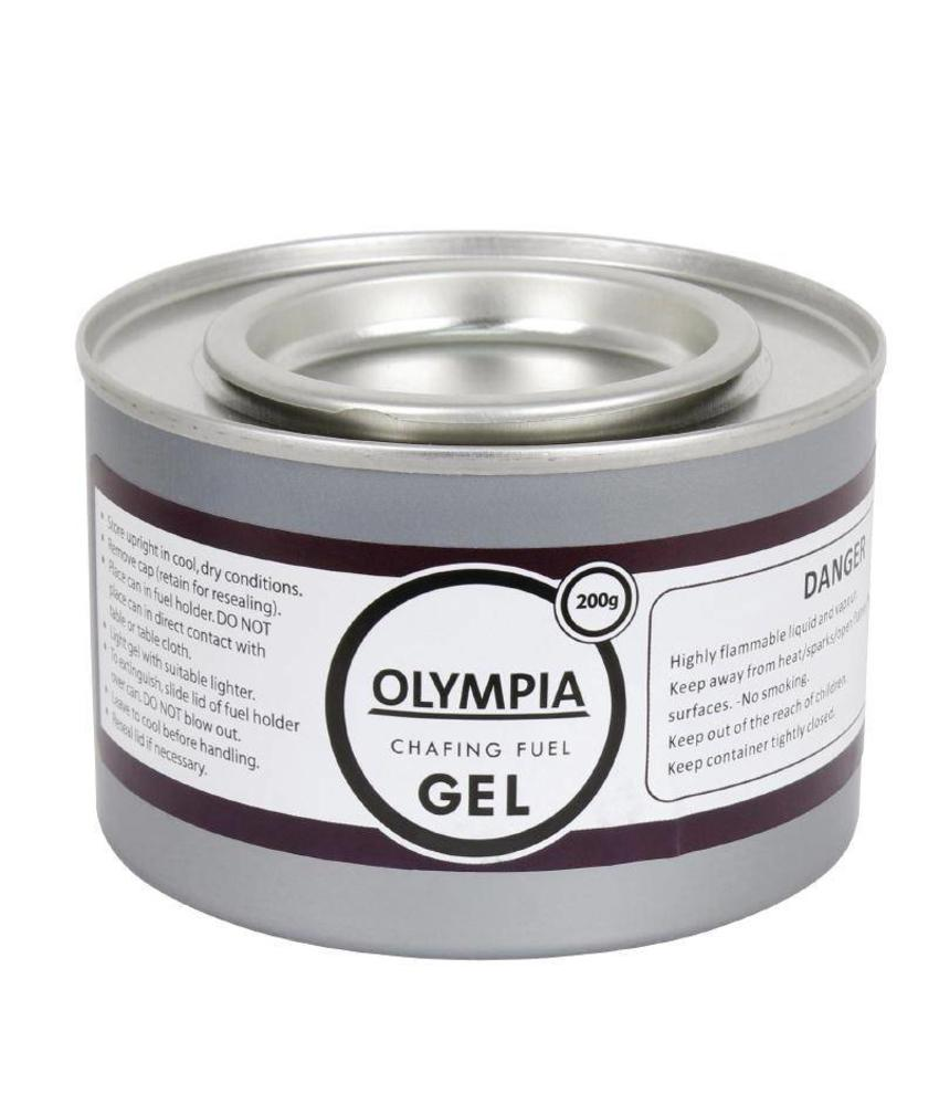 Olympia Olympia brandpasta gel 200g 12 stuks 12 stuks
