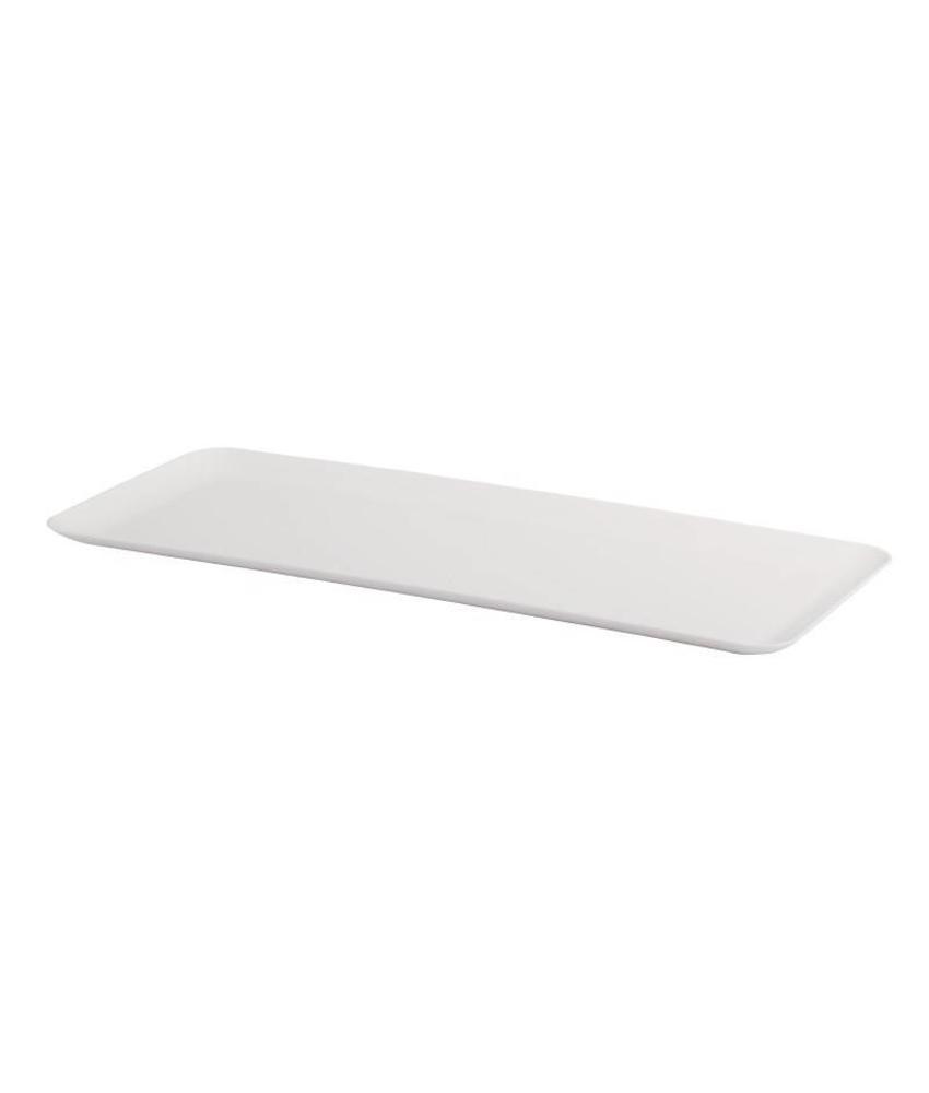 Dalebrook rechthoekig SAN dienblad wit