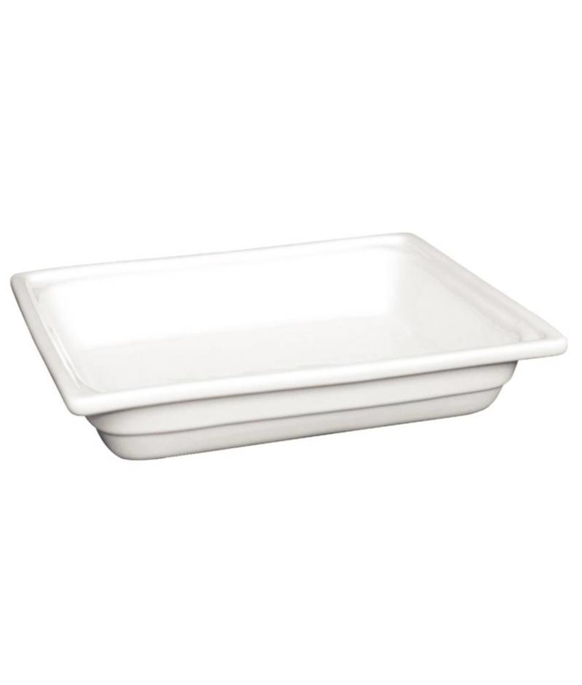 Olympia Olympia Whiteware GN1/2 schaal 6,5cm diep