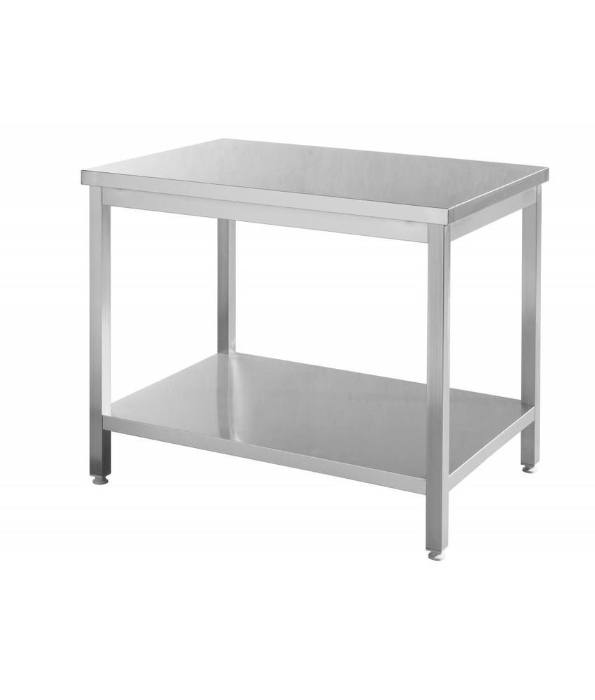 Hendi Werktafel rvs 1600x700x850 mm