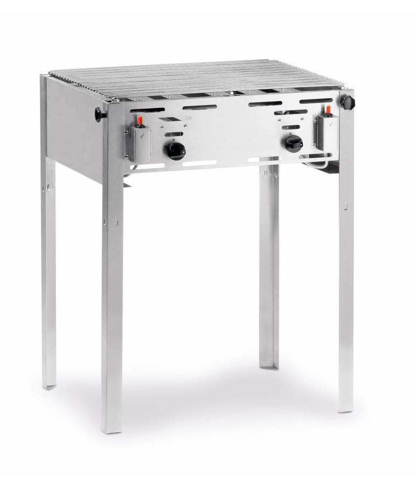Hendi Gasbarbecue Grill-Master maxi 650x540x(H)840