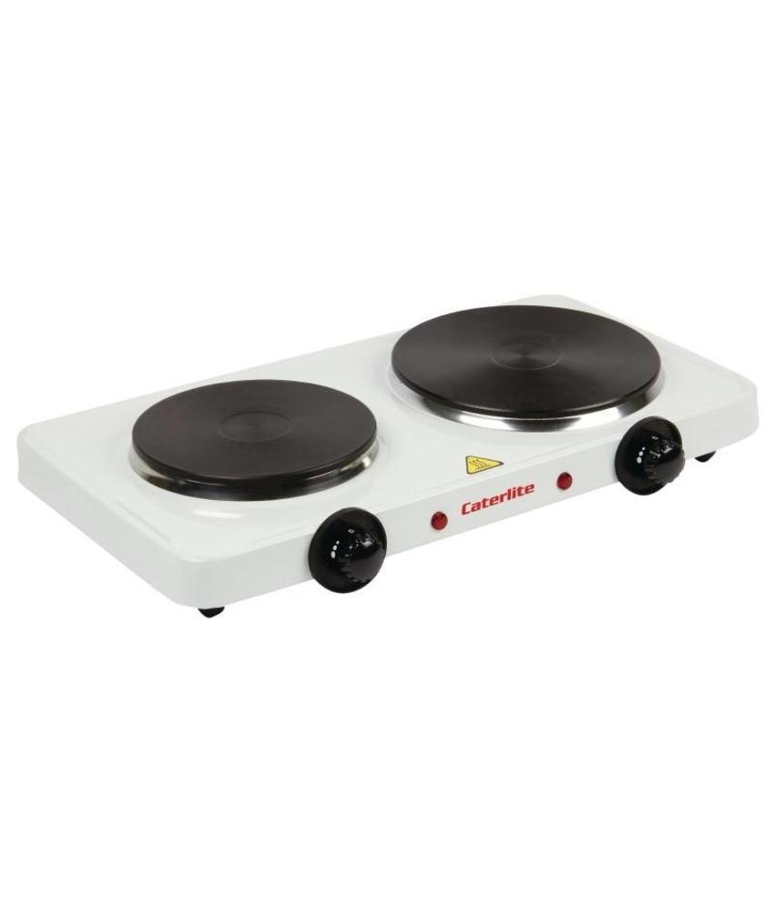 Caterlite Caterlite dubbele elektrische kookplaat