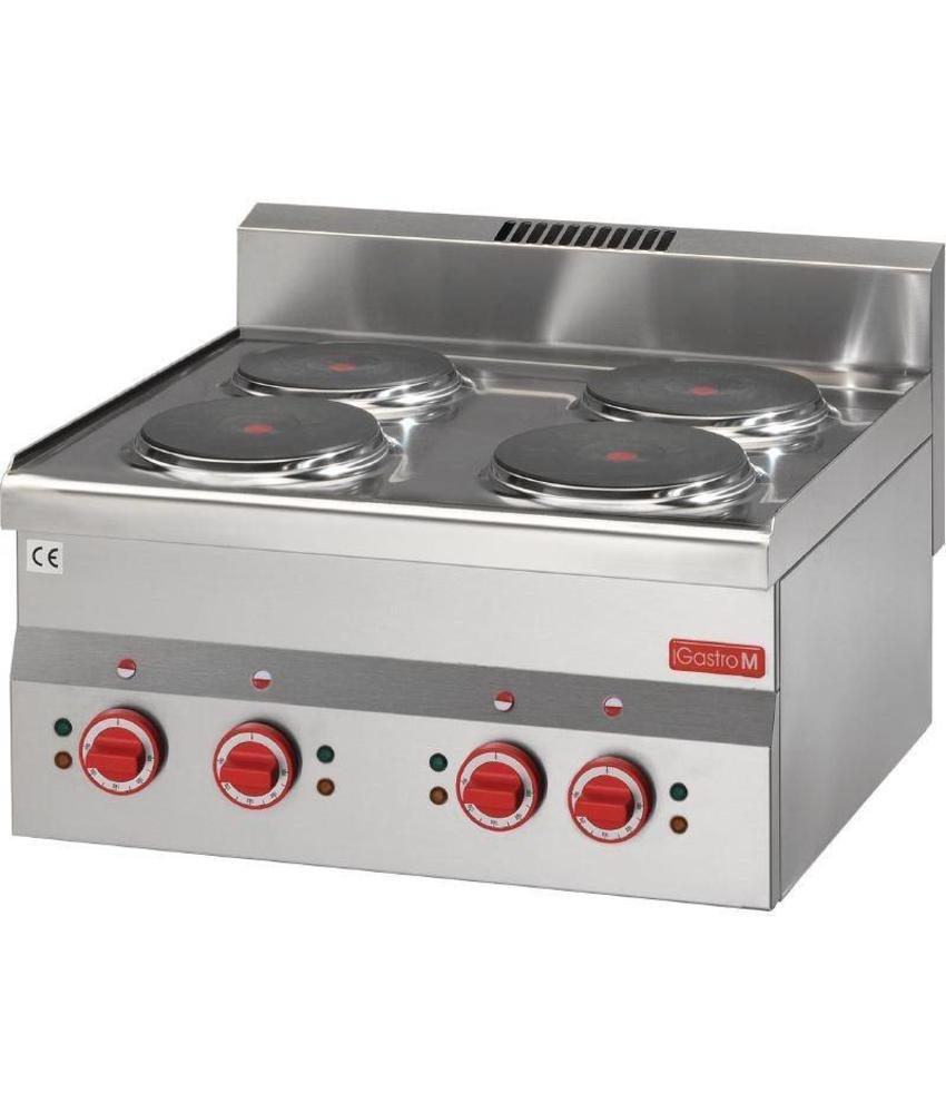 GASTRO-M Gastro M 600 elektrische kookplaat 60/60 PCE