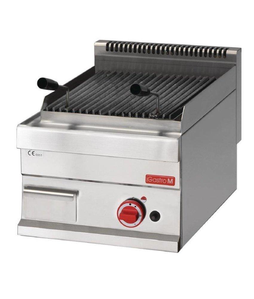 Gastro M lavasteen grill op gas 65/40 GRL