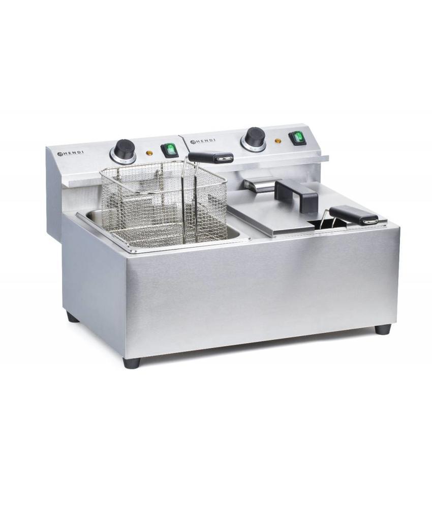 Hendi Friteuse MasterCook 2x8 l 455x605x355 mm 230V 2x3500W