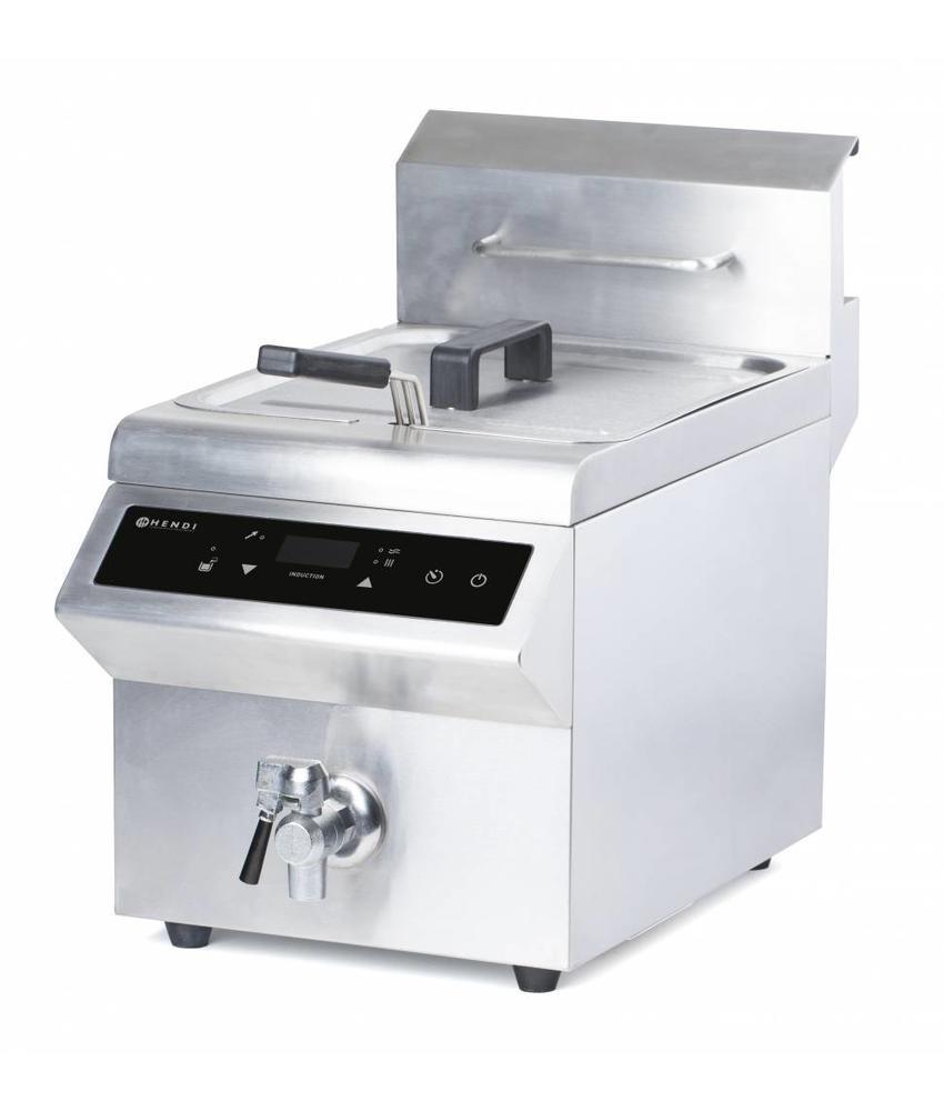 Hendi Inductie friteuse 8L 230V 3500W 570x328x(H)505