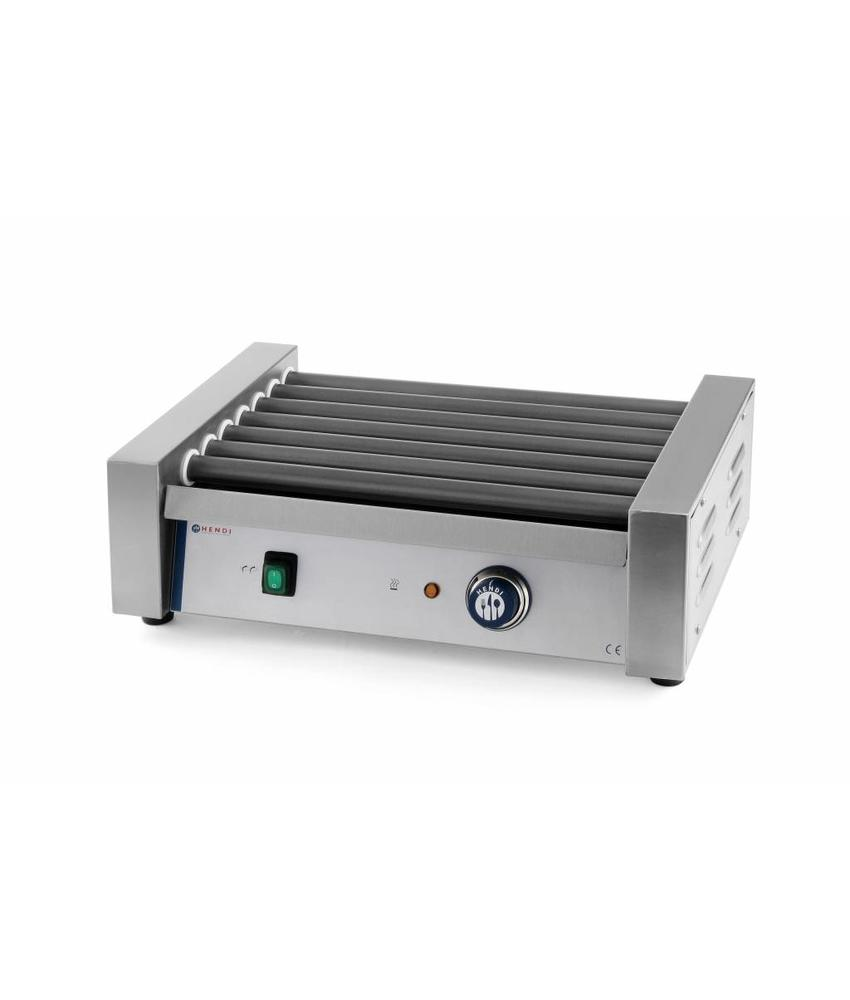 Hendi Worsten roller grill 7 rollers 520x325x175 mm 230V 740W