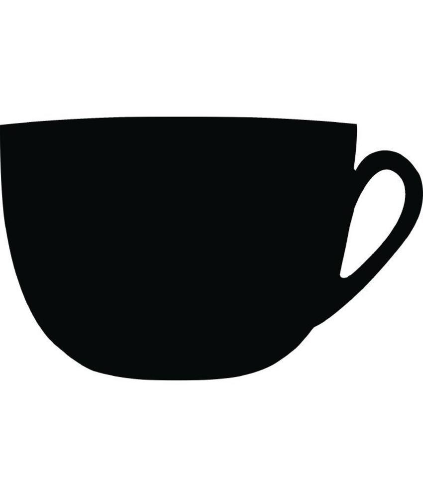Securit Securit 'koffiekop' krijtbord 30x47cm