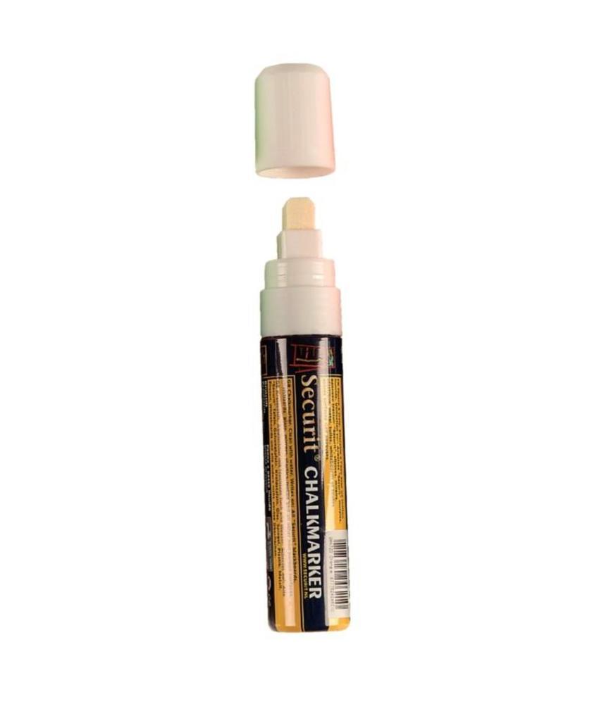 Securit Securit wisbare krijtstiften wit 15mm
