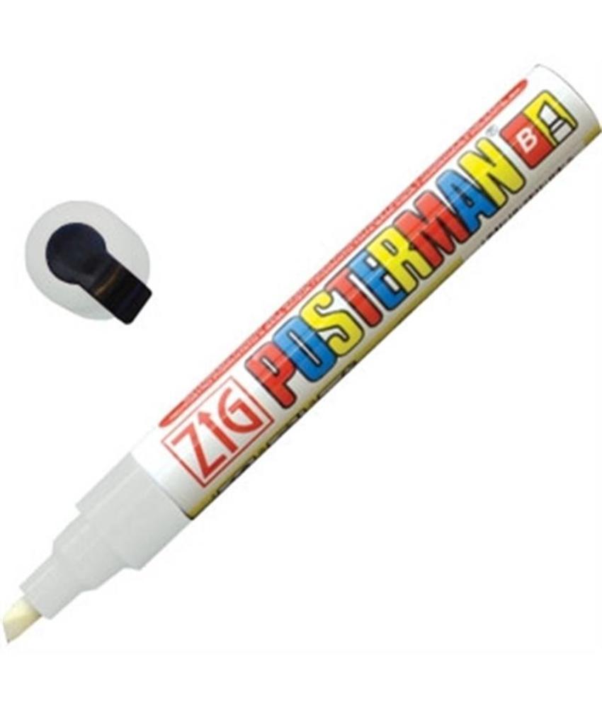 Securit Zig Posterman weerbestendige krijtstiften wit 6mm