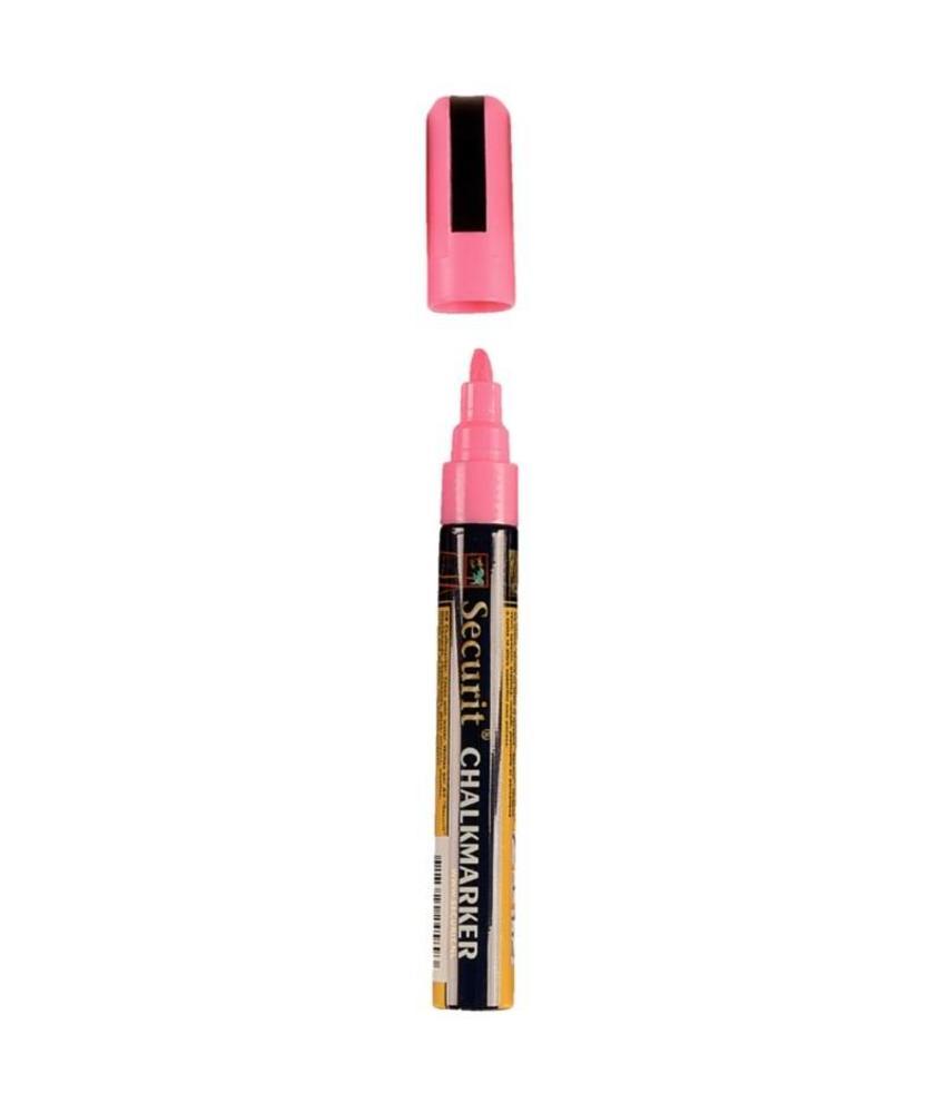 Securit Wisbare krijtstiften 6mm roze