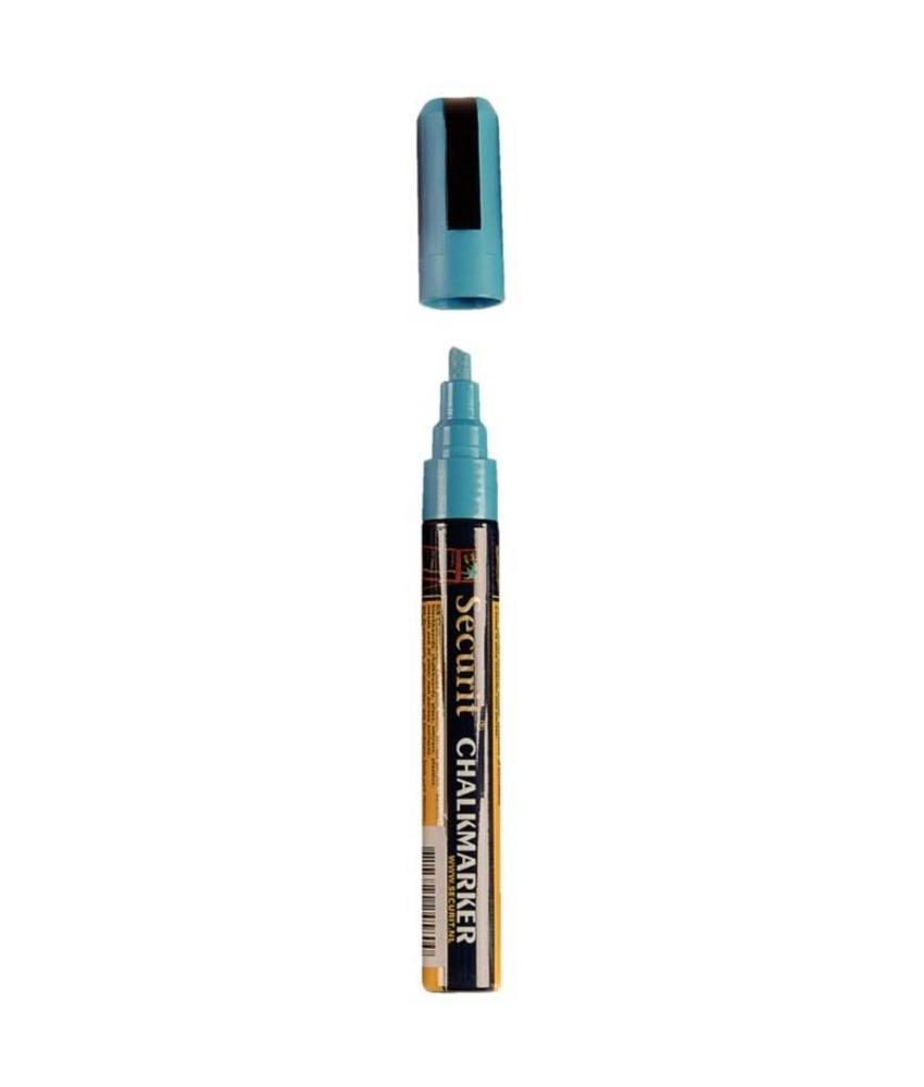 Securit Wisbare krijtstiften 6mm blauw