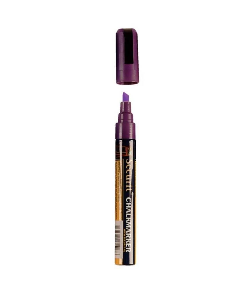 Securit Wisbare krijtstiften 6mm paars