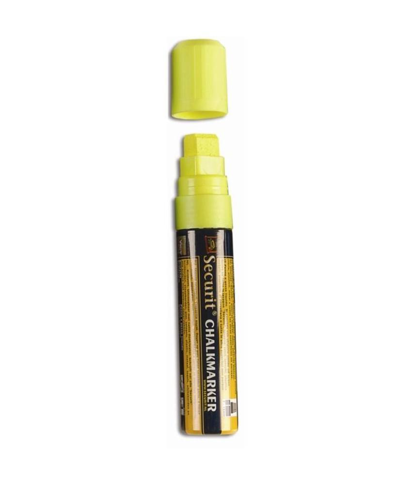 Securit wisbare stift geel 15mm