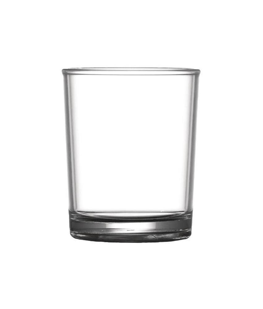 BBP Elite polycarbonaat whiskyglas 22,7cl 24 stuks
