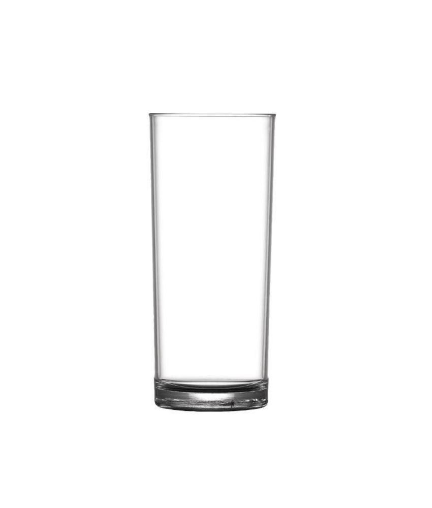 BBP Elite polycarbonaat CE longdrink glas 28,4cl 36 stuks