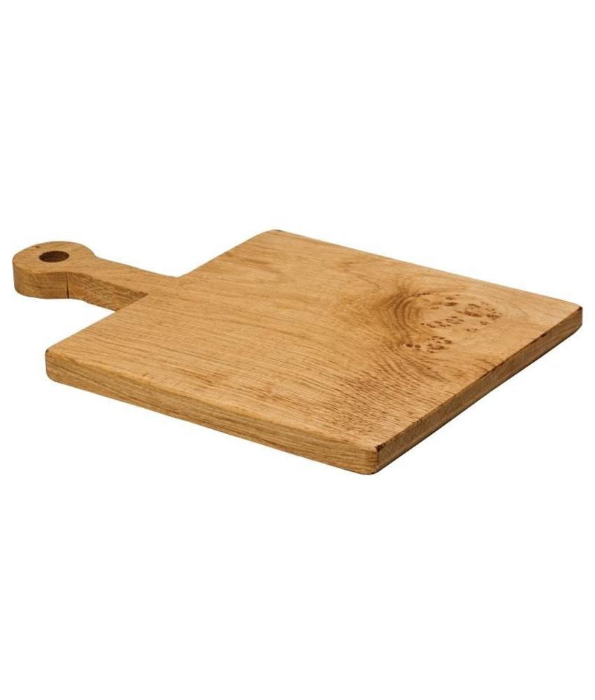 Eiken plank met handvat 46x30cm