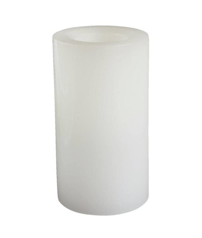 Candle Impressions Candle Impressions vlamloze waskaars 15cm wit